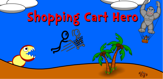 shoping cart hero